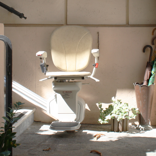 Outdoor Stair Lift Example