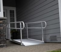 Gateway Ramp with Handrails 8ft